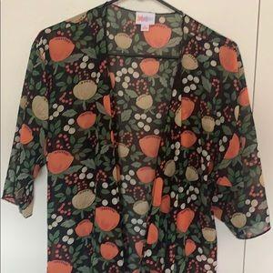 LulaRoe Shirley Kimono Floral